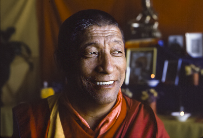 Geshe Rabten. Photo: Carol Royce-Wilder.