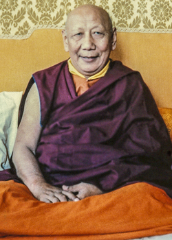 His Holiness Kyabje Ling Rinpoche
