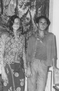 Nick and Marie in Java 1973