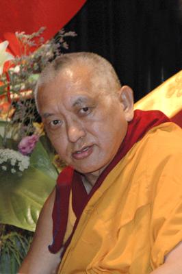 Lama Zopa Rinpoche, 2005.