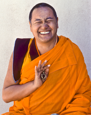 Lama Yeshe,Yucca Valley, California, 1977. Photo: Carol Royce-Wilder.