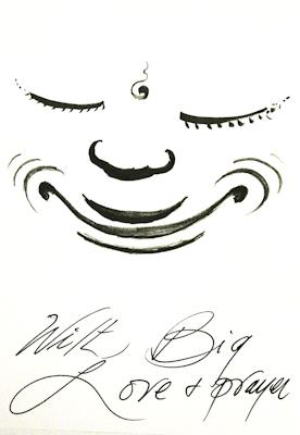 Drawing by Lama Zopa Rinpoche.