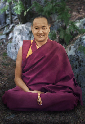 Portrait of Lama Yeshe, Chenrezig Institute, Australia, 1975. Photo by Tony Duff.
