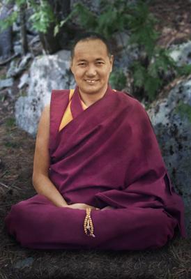 Portrait of Lama Yeshe, Chenrezig Institute, Australia, 1975. Photo by Tony Duff.