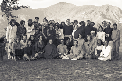 Third Kopan Course participants, December 1972.