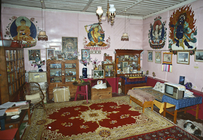 Lama Yeshe's room at Tushita Retreat Centre, Dharamsala. Photo: Adele Hulse.