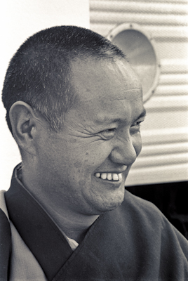Lama Yeshe at Chenrezig Institute, Australia, 1975.