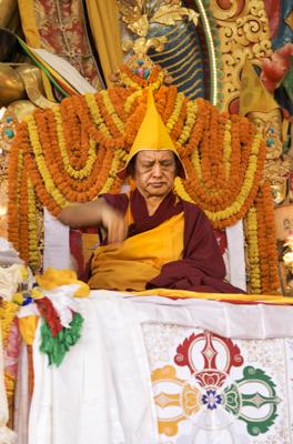 Long Life Puja for Lama Zopa Rinpoche at Kopan Monastery, 2010. Photo: Mikk Tamme.