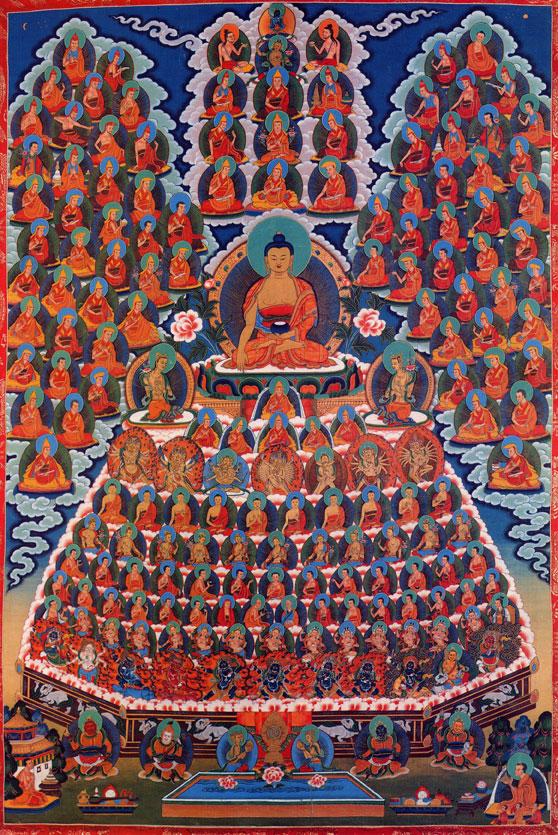 Buddha Shakyamuni Refuge Merit Field. Courtesy of FPMT Foundation Store.