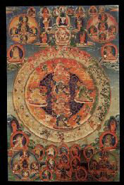 100 Peaceful and Wrathful Deities of the Bardo