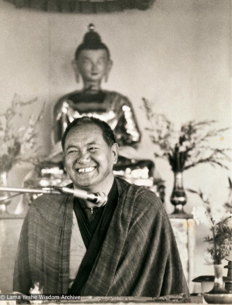 (13331_pr.tif) Lama Yeshe teaching at Chenrezig Institute, Australia,1979.