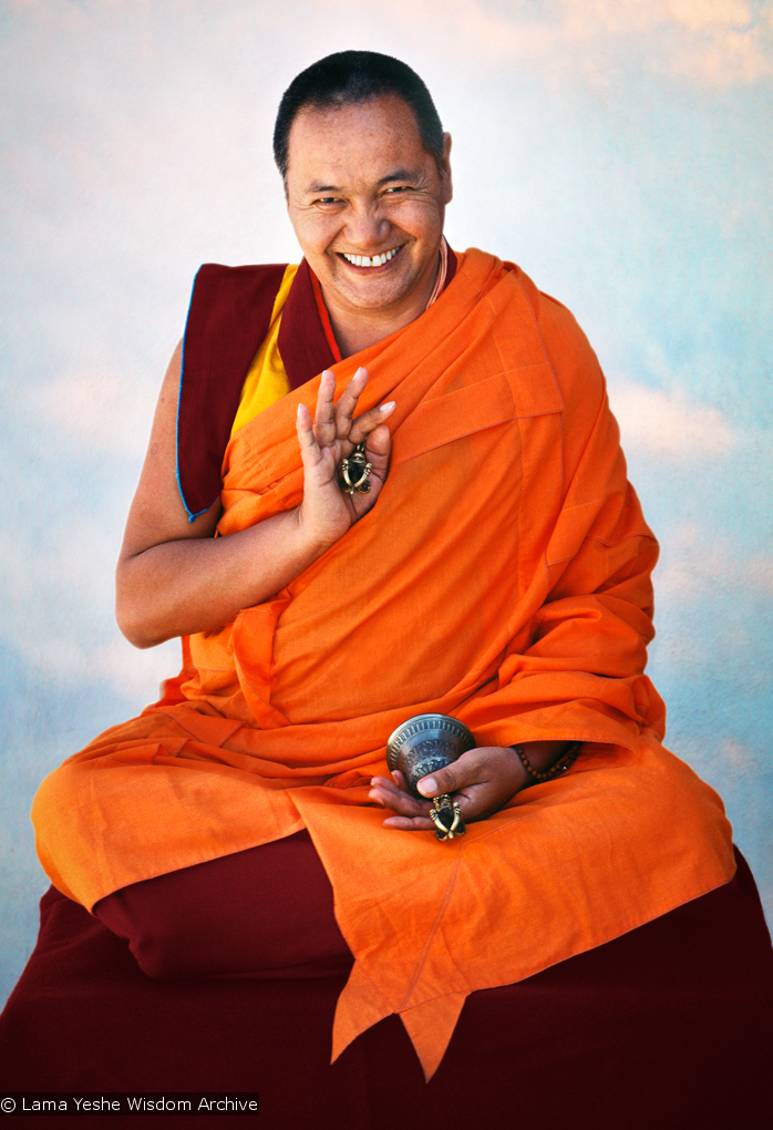 (15127_sl.psd) Portraits of Lama Yeshe taken by Carol Royce-Wilder during the Yucca Valley course, 1977