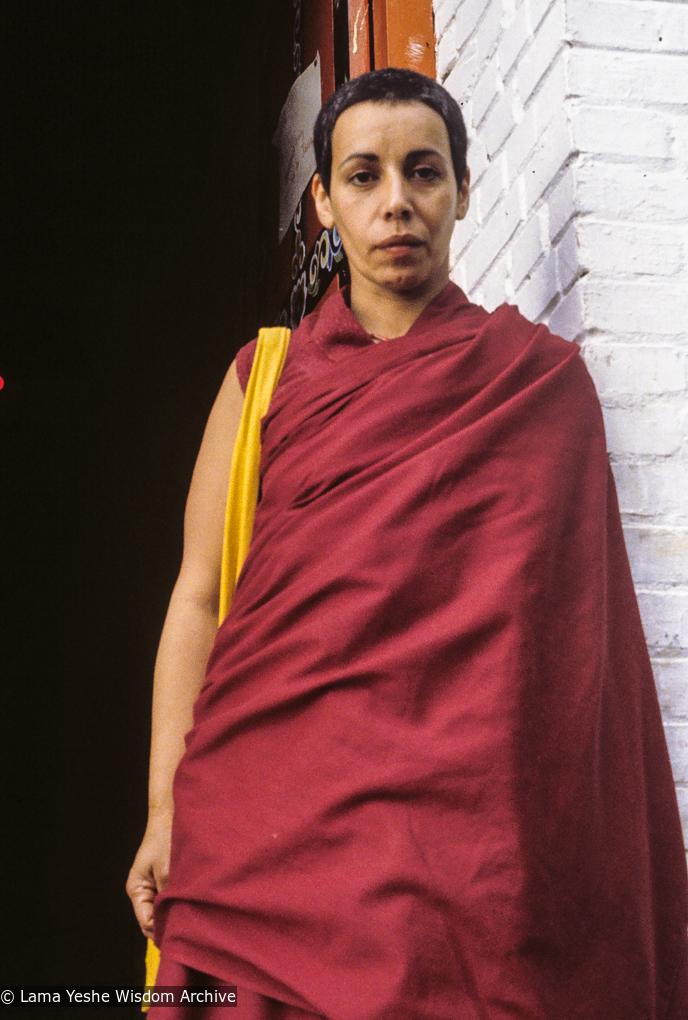 (24640_sl-3.TIF) Zia Bassam, Kopan Monastery, 1979. Jeff Nye (photographer)