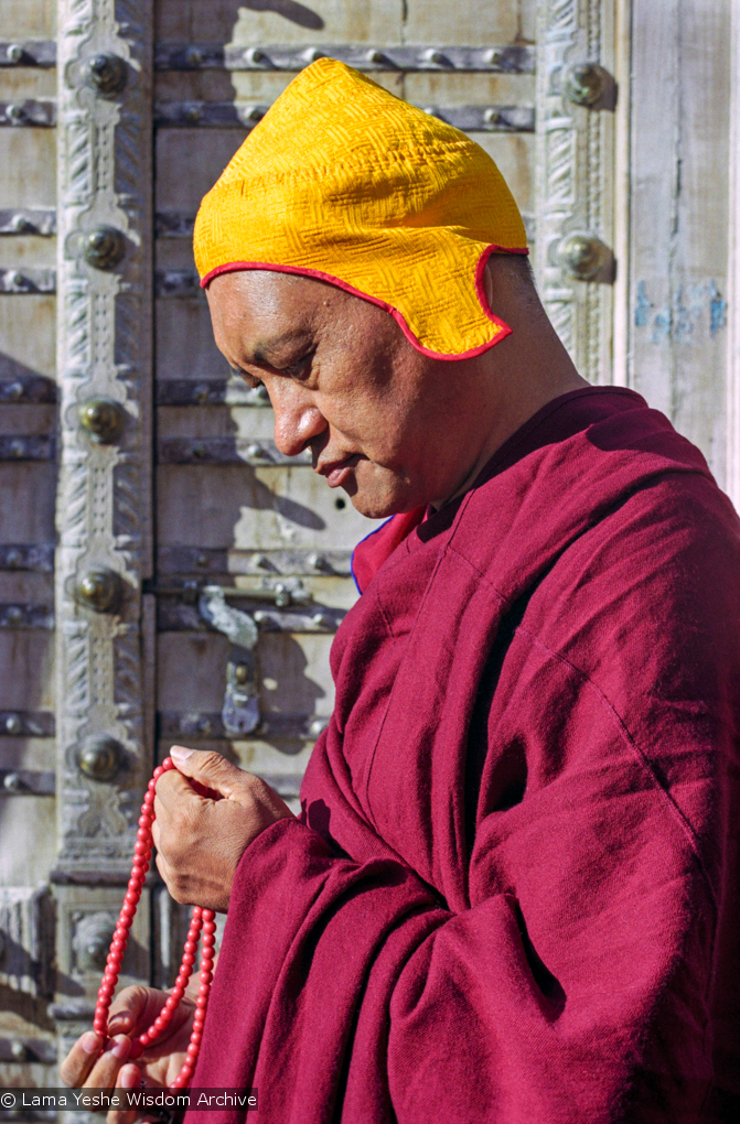 (34347_ng.jpg) A series of images of Lama Zopa Rinpoche from a photo shoot by Lenny Foster in Taos, New Mexico, 1999.