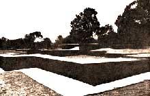 Shravasti: Monastery Ruins