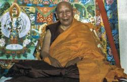 His Holiness Kyabje Ling Rinpoche (1903-83)