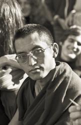 Lama Zopa Rinpoche at Manjushri Institute, England, 1976.