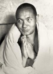Lama Yeshe at Kopan Monastery, Nepal, 1971.