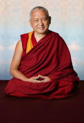 Kyabje Lama Zopa Rinpoche, 2006. Photo: John Berthold.
