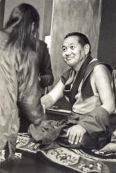 Lama Yeshe in Santa Cruz CA, 1978. Photo: Jon Landaw.