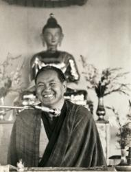Lama Yeshe teaching at Chenrezig Institute, Australia,1979.