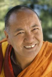 Lama Yeshe at Tushita Meditation Centre, Dharamsala, India, 1982.  Photo: Jorge Zontal.