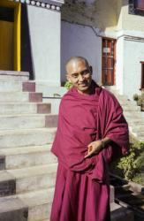 Lama Zopa  Rinpoche at the 12th Kopan Meditation Course, Kathmandu, Nepal, 1979.