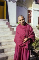 Lama Zopa Rinpoche at the Twelfth Kopan Meditation Course, Kathmandu, Nepal, 1979. Photo: Ina Van Delden.