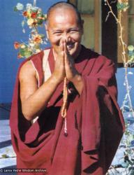 (00024_ud-3.jpg) Lama Yeshe, Tushita Retreat Centre, Dharamsala, India, 1973. Brian Beresford (photographer)