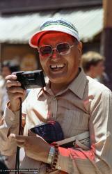 (05935_ng-3.jpg) Lama Yeshe at the San Francisco Gay Pride parade, San Francisco, California, 1983. Åge  Delbanco (photographer)