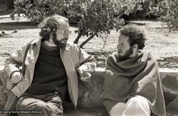 (06840_ng-3.psd) Jon Landaw and Karuna Cayton at Yucca Valley, CA, 1977. Carol Royce-Wilder (photographer)
