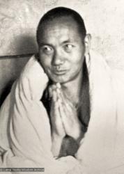 (07462_pr-2.psd) Lama Yeshe at Kopan Monastery, 1971.