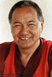 (07528_pr-2.psd) Portrait of Lama Yeshe, Geneva, Switzerland, 1983. Photos by Ueli Minder.