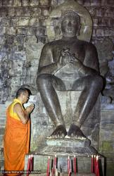 (07996_ng-3.psd) Lama Yeshe at Borobodur, Java, 1979.