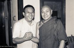 (08846_ng-3.psd) Gelek Rimpoche, Lama, New Delhi, India, 1983.