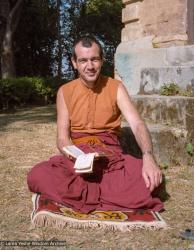 (10253_ng-3.JPG) Neil Huston, Kopan Monastery, Nepal, 1983. Wendy Finster (photographer)