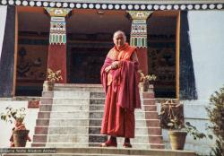 (11612_pr-3.psd) Lama Yeshe, Kopan Monastery, Nepal, 1980.
