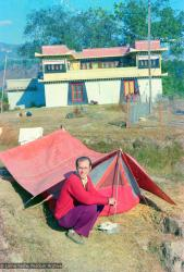 (12609_ng.jpg) Jon Landaw at Kopan Monastery, Nepal, 1973.
