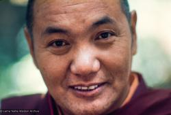 (12681_sl.jpg) Lama Yeshe, Lake Arrowhead, 1975. This photo is from a three week retreat the lamas taught at Camp Arrowpines on Lake Arrowhead, east of Los Angeles, USA, 1975. Photo by Carol Royce-Wilder.