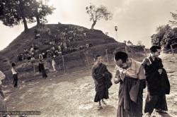 (15203_ng.psd) Lama Yeshe and Lama Zopa Rinpoche in group photos from the Fourth Meditation Course, Kopan Monastery, Nepal,1973