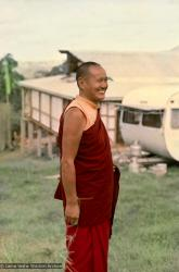 (15909_ng.psd) Portrait of Lama Yeshe during the month-long course at  Chenrezig Institute, Australia, 1975.