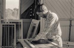 (17583_ng-3.tif) Ken Hawter, Atisha Centre, Bendigo, Australia, 1981. Ian Green (photographer)