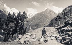 (17992_pr-3.jpg) Yeshe Khadro (Marie Obst), Lawudo Retreat Center, Nepal, 1973. Photo by Nick Ribush