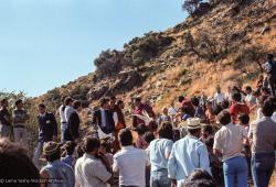 (25050_ng.TIF) Lama Yeshe at O Sel Ling. In September of 1982, H.H. Dalai Lama visited this retreat center that the lamas had just set up in Bubion, a small town near the Alpujarra mountains near Granada, Spain. At the end of His Holiness teaching he named the center O Sel Ling. Photo by Pablo Giralt de Arquer.