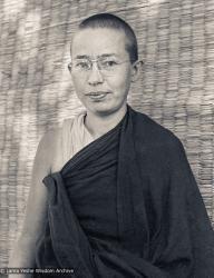 (25519_ng-3.jpg) Ani Karin Valham, Kopan Monastery, Nepal, 1976.