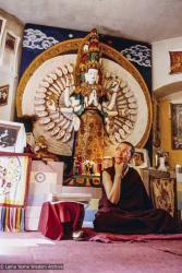 (26209_pr-3.psd) Ani Karin, Kopan Monastery, Nepal, mid-80s. Karin Valham (donor)