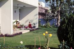 (30893_ud-3.jpg) Wendy Finster, Yeshe Khadro (Marie Obst), Tushita-Delhi, Shantiniketan, India, 1979.