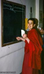 (31409_ud-3.jpg) Thubten Chodron, Istituto Lama Tzong Khapa, Pomaia, Italy, 1978.