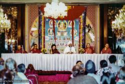 (32825_pr-3.psd) Tushita-Delhi's first Dharma Celebration, Hotel Oberoi, New Delhi, India,1981.