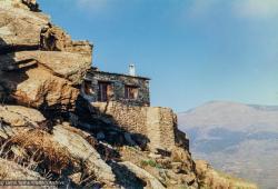 "(33086_pr-3.jpg) ""Buddha Cave"" at O Sel Ling Retreat Centre, where His Holiness Dalai Lama meditated in 1982, Granada Spain."